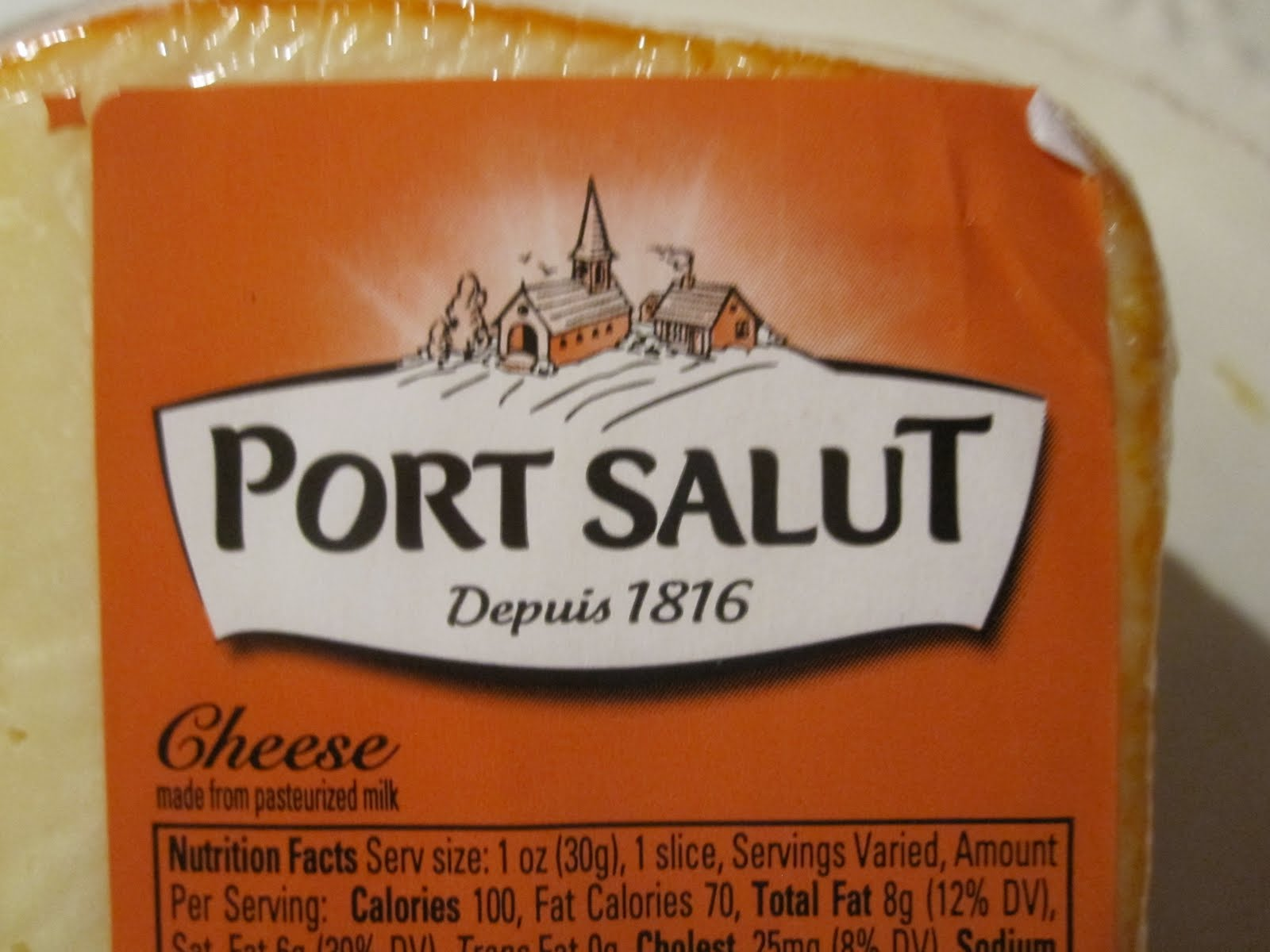 Port Salut (pronounced poor sah-lew) cheese. was developed by a congregation ...