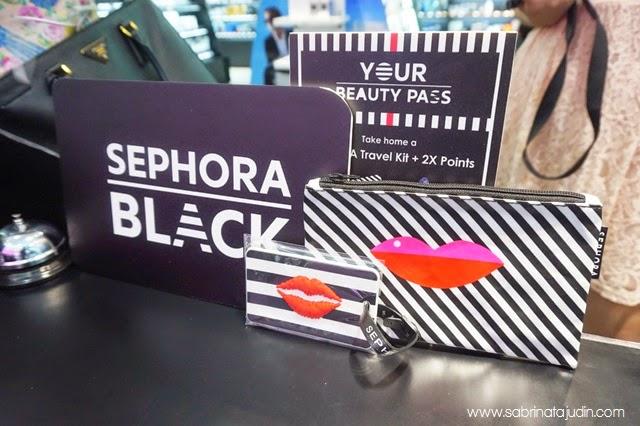 Sephora Malaysia Sunway Pyramid Black Card