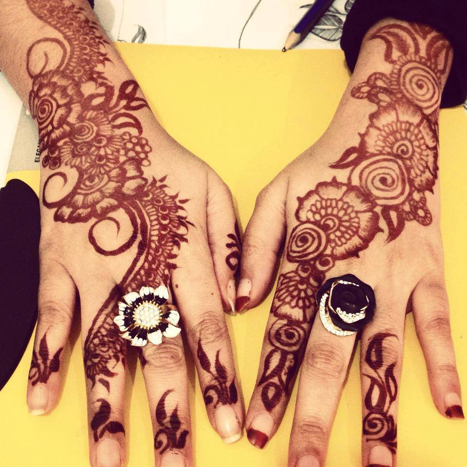 RigVeda Mehendi Creations By Narmatha May 2015