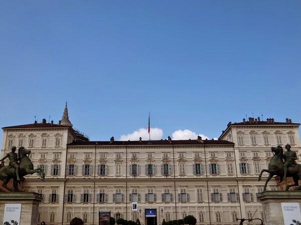 Turin Italie palazzo reale
