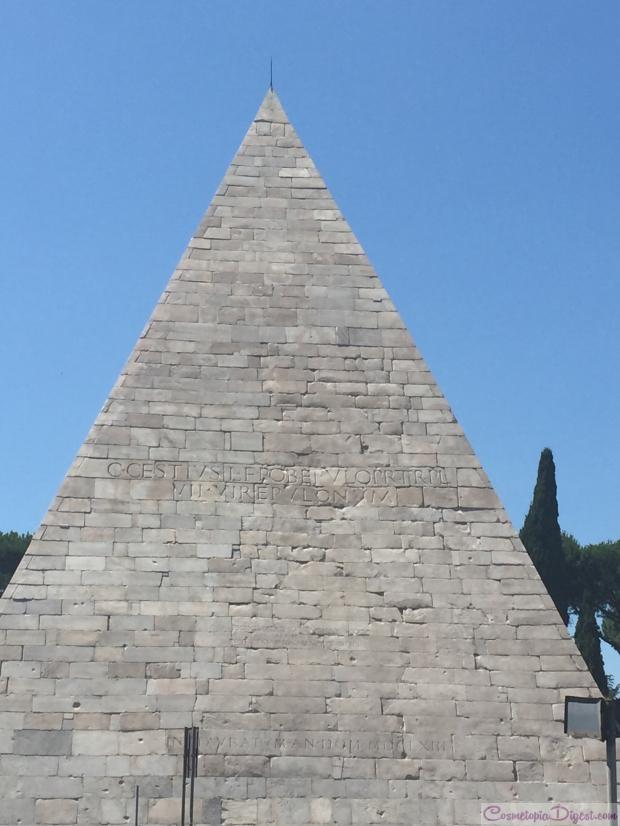 Pyramid of Cestius, Rome