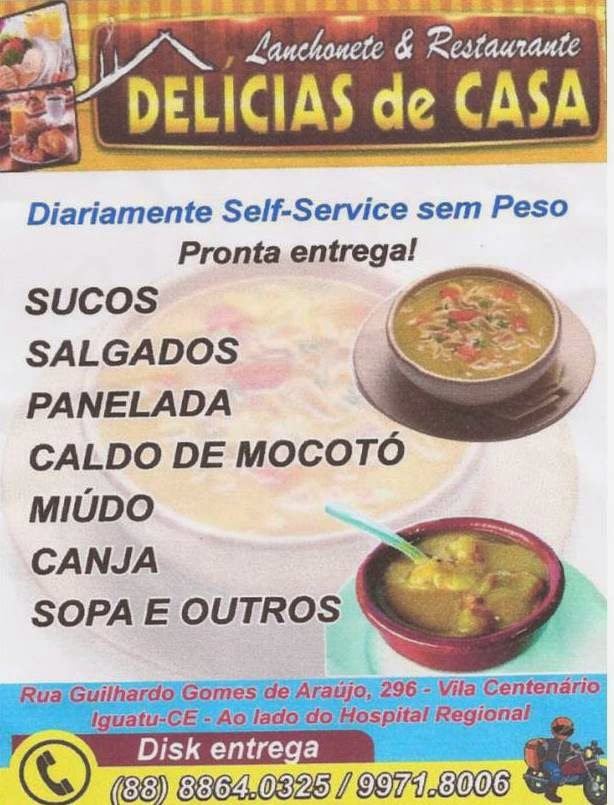 DELÍCIAS DE CASA