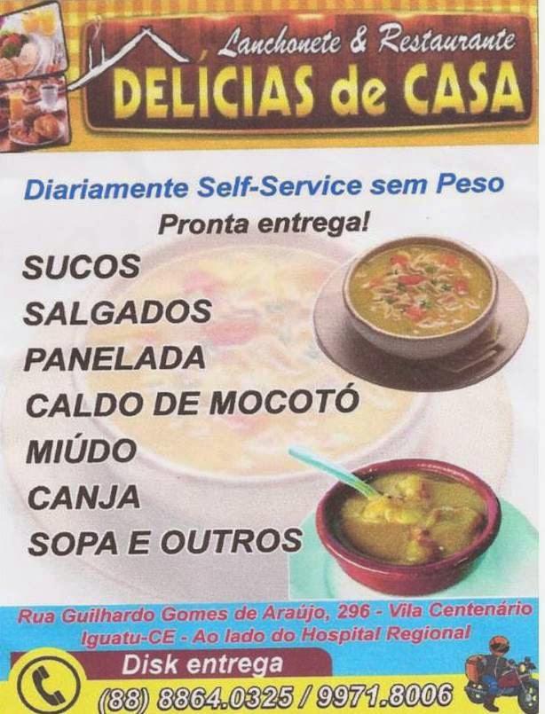 DELÍCIAS DE CASA