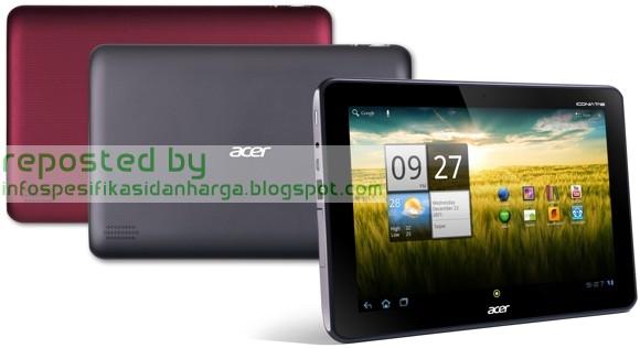 Spesifikasi Acer Iconia Tab A700 Tablet Terbaru 2012