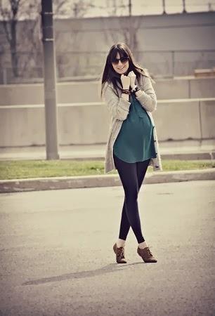 Ideas de Moda Durante el Embarazo