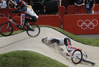 Brooke Crain, Olympic BMX final, BMX, bike, cycling, Arielle Martin-Verhaaren