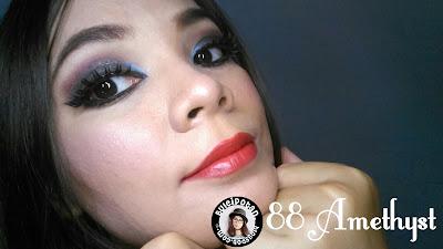 Lipstik Purbasari Amethyst nomor 88