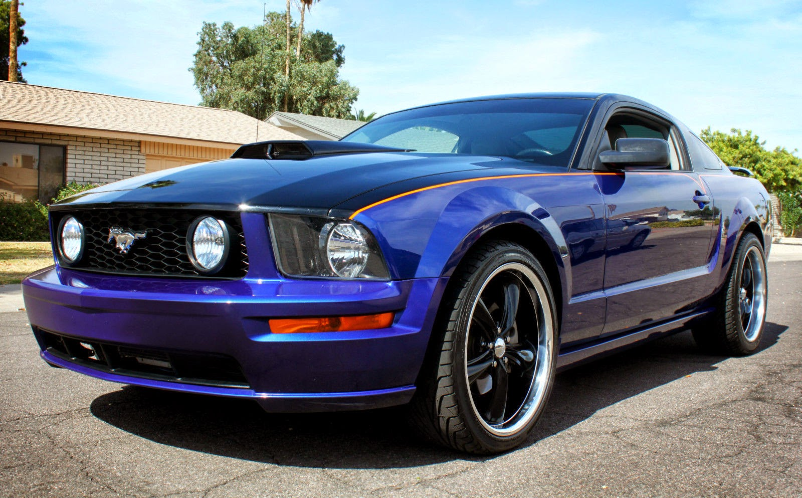 custom painted v8 2006 mustang gt premium for sale american muscle cars - Mustang 2014 Purple
