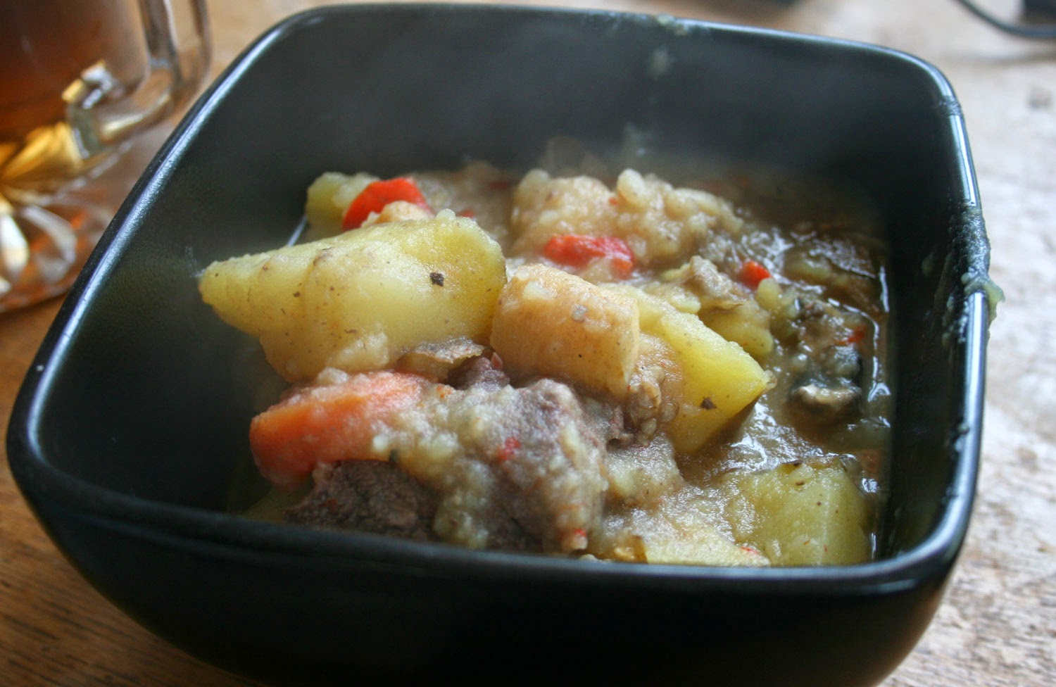 My stew; nearly as good as hers....