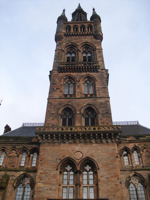 glasgow university tower