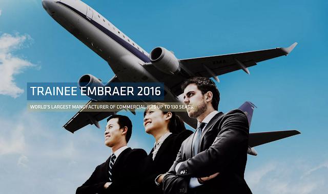 É MAIS QUE VOAR | Embraer lança Programa de Trainee Embraer 2016