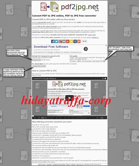 Aplikasi web terbaik untuk mengonversi file JPG ke PDF