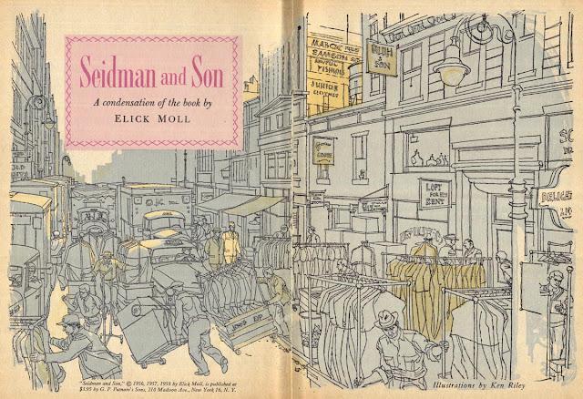 Ken Riley, Ilustração para a Reader's Digest Condensed Books, 1958