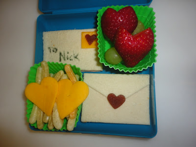 love letters valentines lunch
