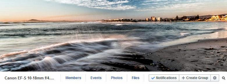 Canon EF-S 10-18mm IS STM Ultra-Wide Lens Facebook Group