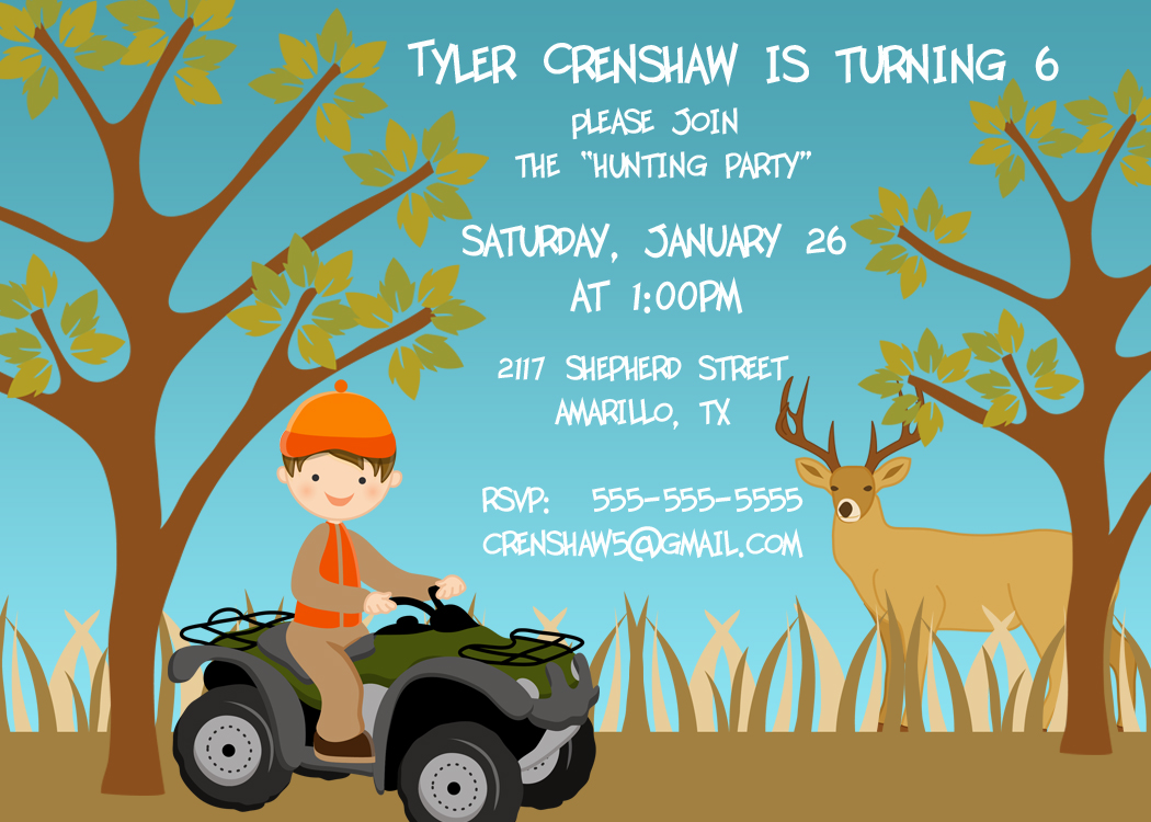 Bear River Photo Greetings New Printable Birthday Party Invitation