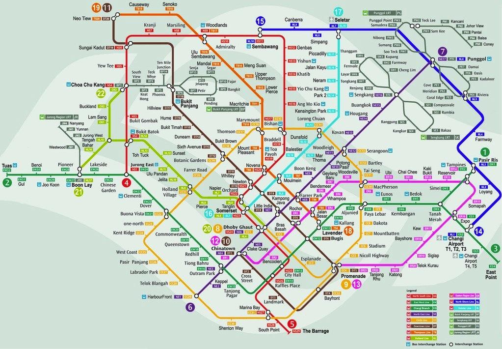 InternSing: Le métro à Singapour : un exemple à suivre ?