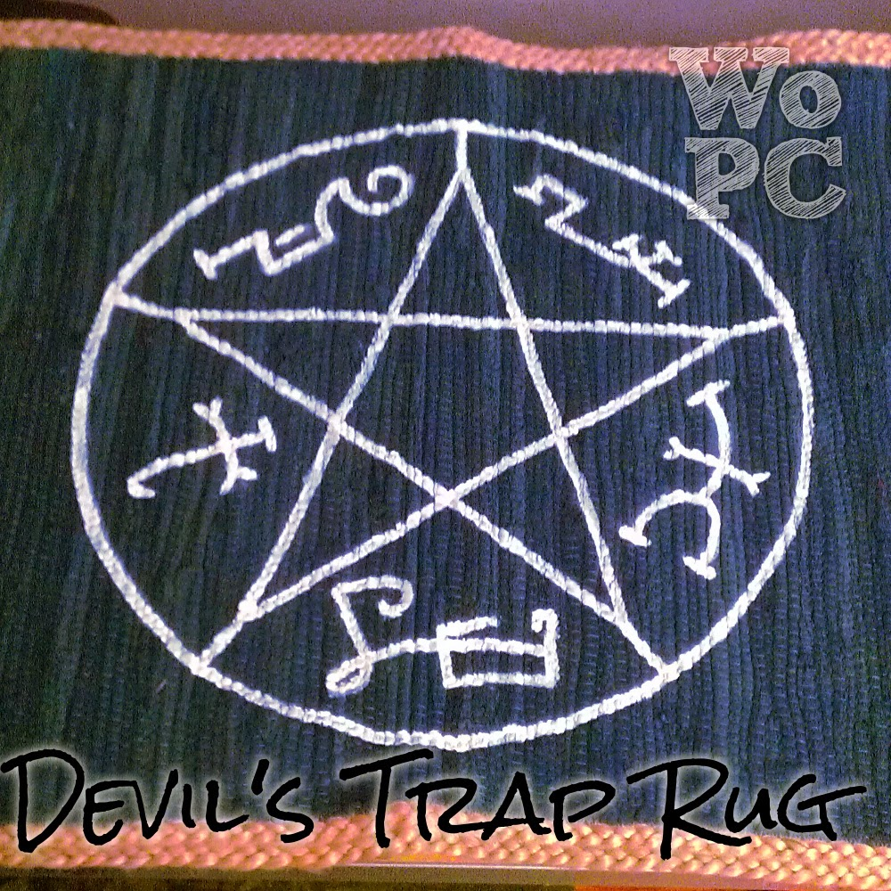 With our powers combined supernatural devils trap rug supernatural devils trap rug biocorpaavc Gallery