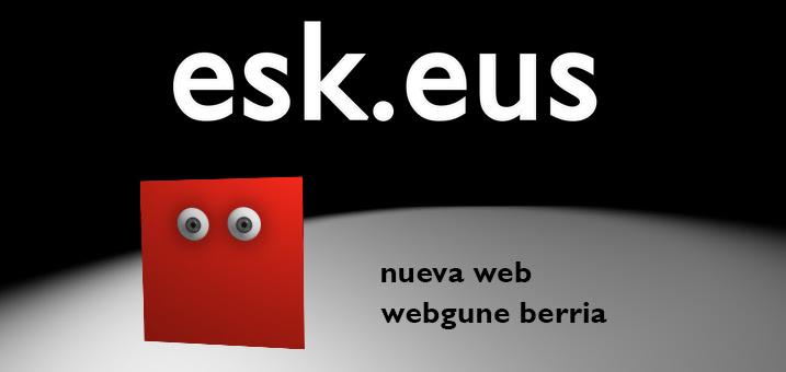 Nueva web / webgune berria
