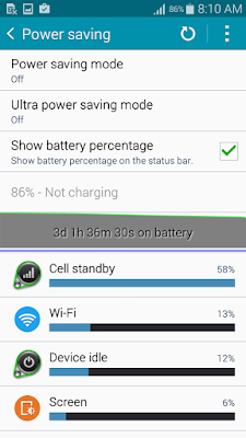Samsung Galaxy E7 Review Battery