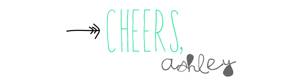 Cheers, Ashley