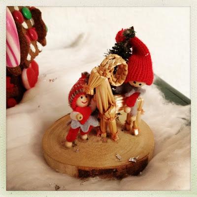 Nisselandskab, julepynt