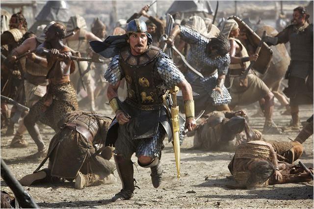 """Christian Bale en """"Exodus: Dioses y Reyes"""""""
