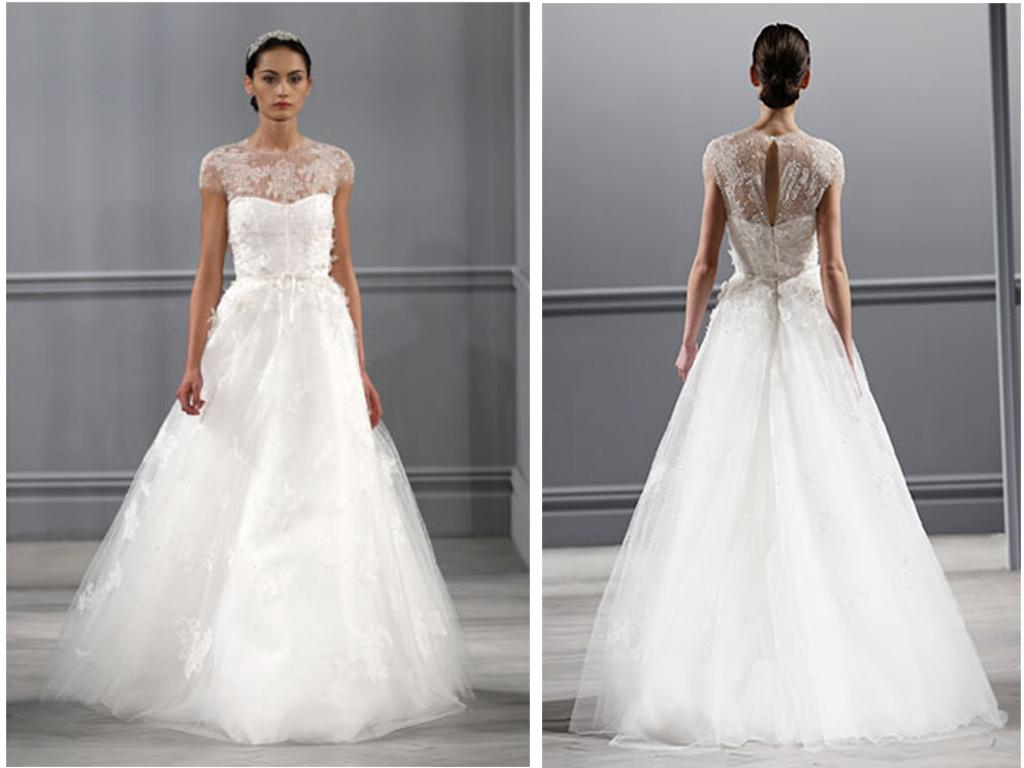 Wedding dresses: prada wedding dress
