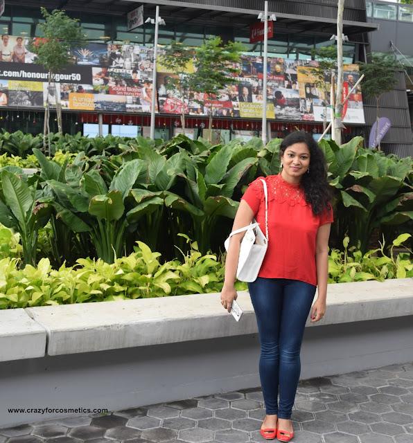Singapore brand handbags Charles & keith