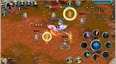 Tải game vệ thần online cho Java, Android 2