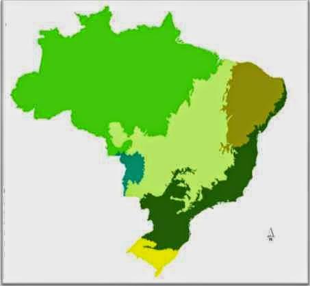 Prova de Geografia - 7º ano - 3º Bimestre - 2014