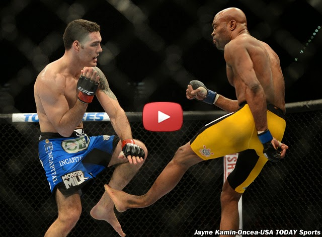 UFC 168: Anderson Silva Suffered a Gruesome Broken Leg Against Chris Weidman (VIDEO)