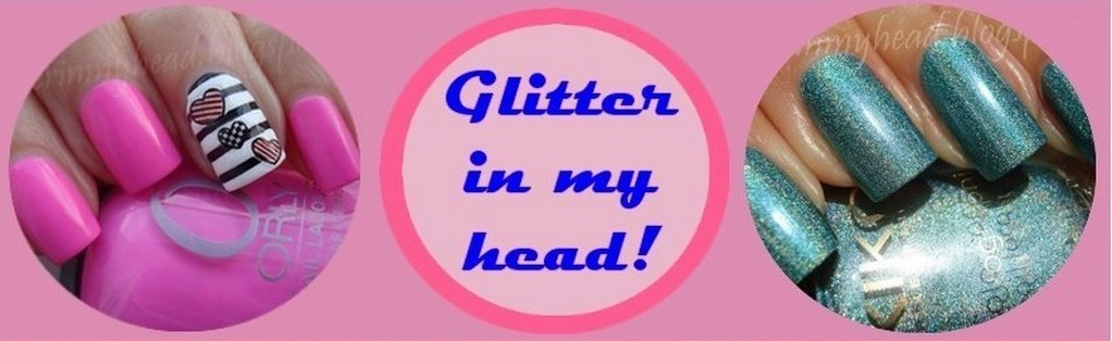 Glitter in my head!