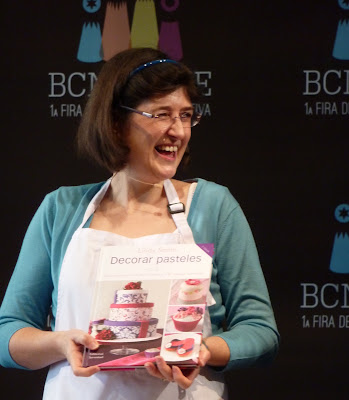 Lindy Smith at the BCN and Cake Fair in Barcelona