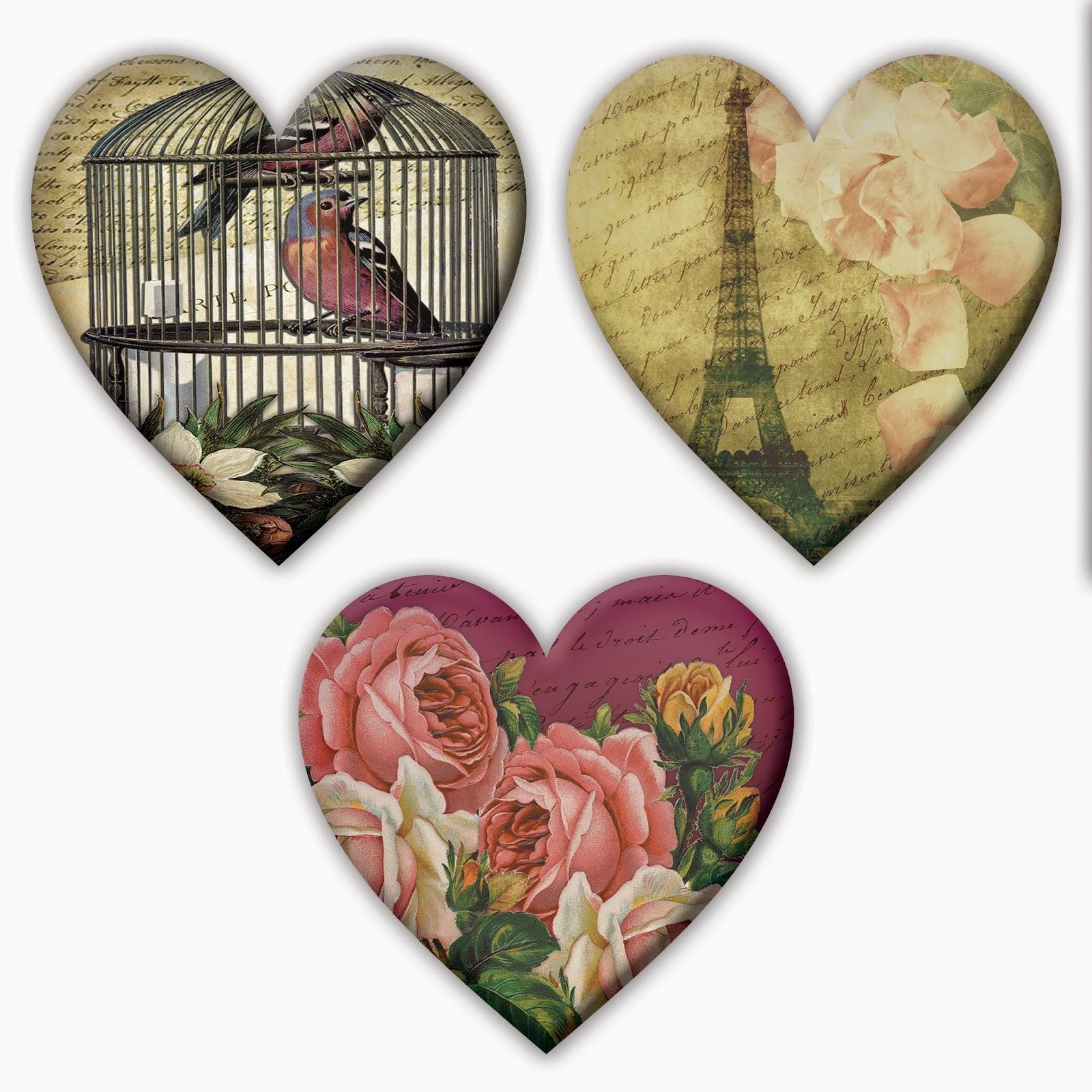 printable vintage valentine's