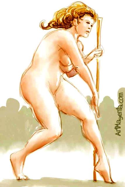Life drawing by ArtMagenta