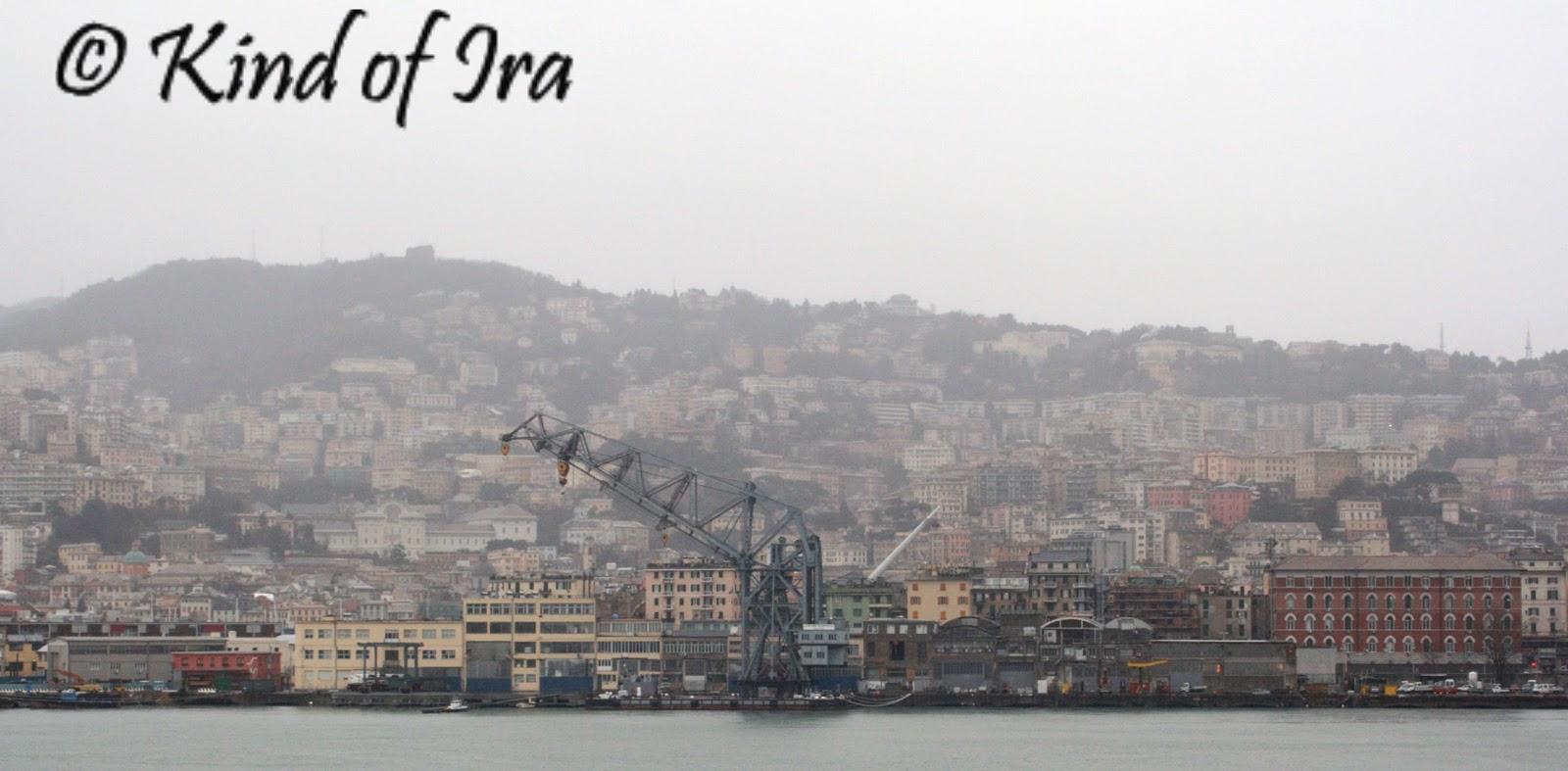 cum e in Genova iarna