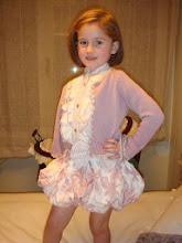 Con vestido de La Quinta