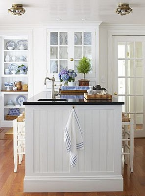 Kitchen Inspiration Month Day Six Beadboard Backsplash