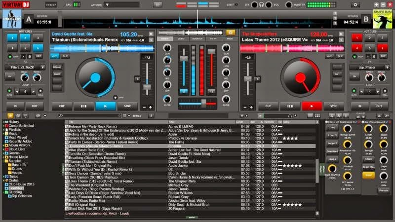 Download Virtual DJ Pro 8 Build 2191 Full Patch