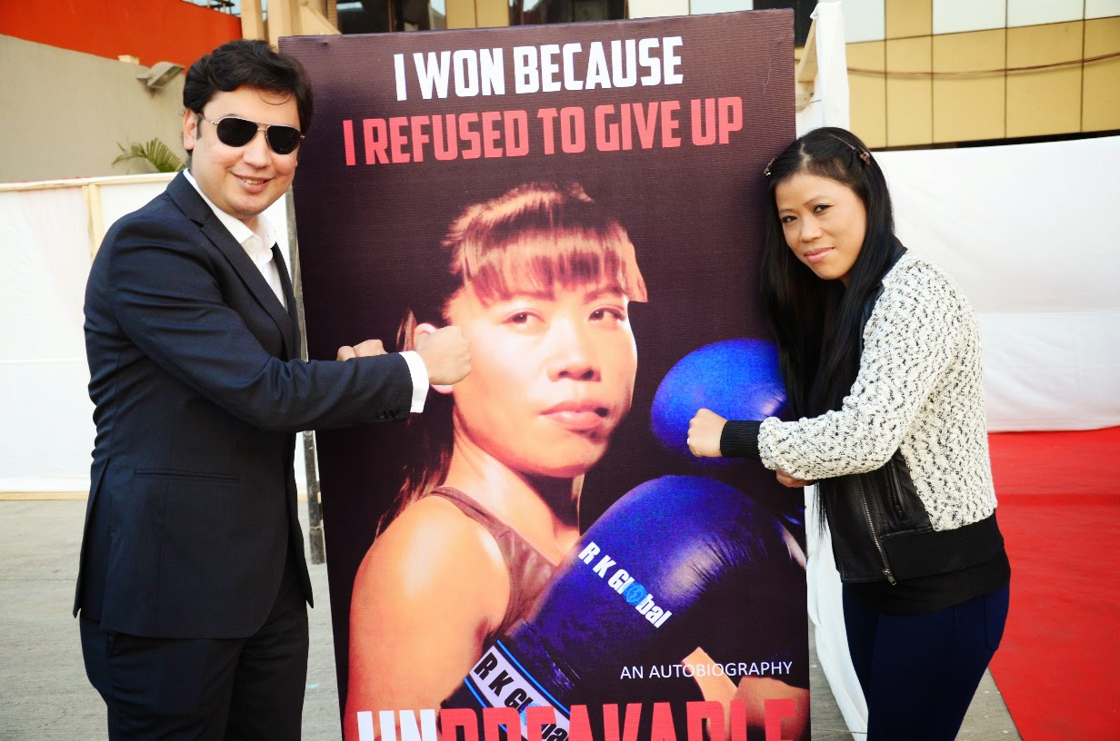 Neerav Tomar, CEO & MD, IOS Sports & Entertainment with Mary Kom