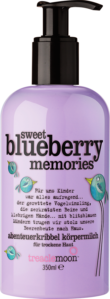 treaclemoon sweet blueberry memories
