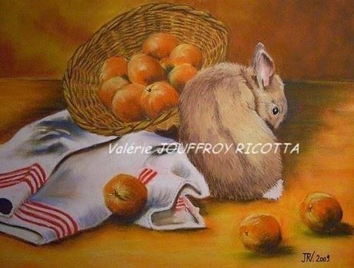 Valérie JOUFFROY-RICOTTA, pastel, canel