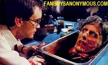 Jeffrey Coombs mad scientist Reanimator zombie movie