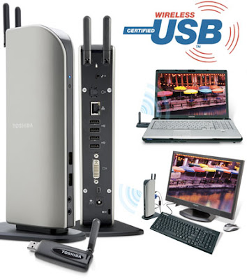 Toshiba DynaDock Wireless USB Notebook Dock Strikes Back