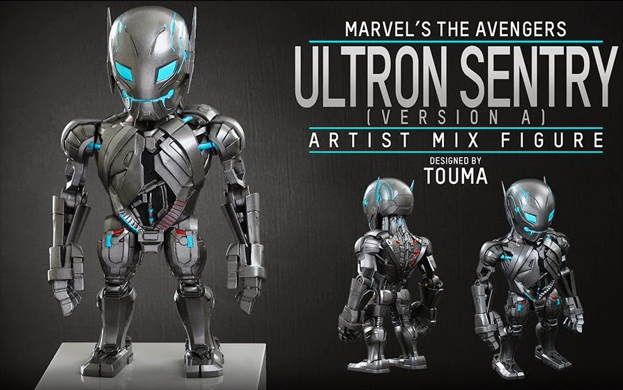 Marvel's Avengers Age of Ultron Artist Mix Figures Series 1 by Touma & Hot Toys - Ultron Sentry Version A