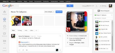 Tampilan baru Google+ Plus
