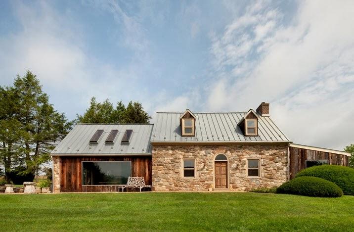 Casa de piedra y madera imagui for Casas de piedra y madera