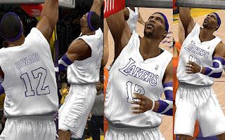 NBA 2K13 Los Angeles Lakers Christmas Jersey