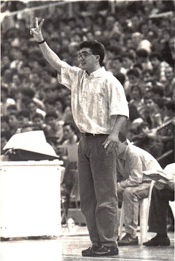 Paco García, Entrenador del Juver Murcia 1.989